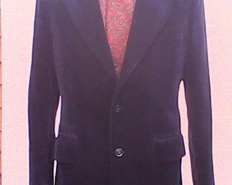 Harry Fenton Velvet Jacket 1970s