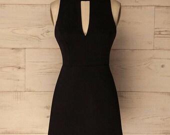 evening dress-holiday Dress-Evening dress-dress-Black dress-robe noire-tenue de soirée-ceremonial dress-Cocktail dress