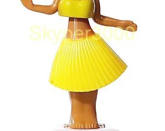 Solar wobble figure Isabella - Hula Girl Yellow