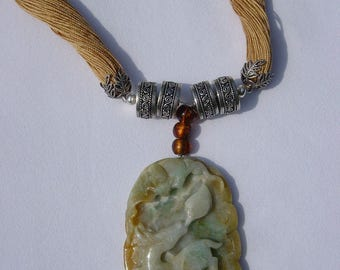 Jade Deer Necklace