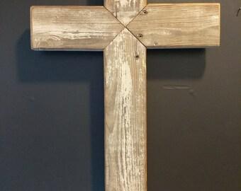 Rustic Barwood Cross