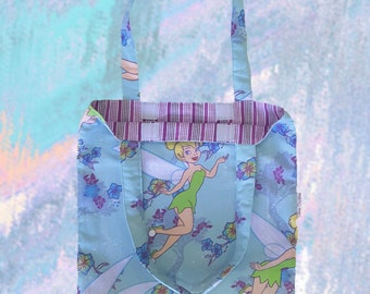 Library Bag - Book Bag - Tinkerbell Fairy - Child