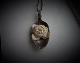 Vintage Spoon Necklace #820