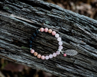 LOVE | Aromatherapy Gemstone Diffuser Bracelet