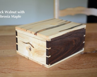 Handcut Dovetail Box