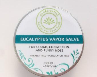 Eucalyptus Vapor Salve, Baby, Kids, Vapor Rub, Chest Rub, Vicks, Petrolatum Free, Natural