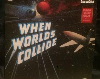 WHEN WORLDS COLLIDE (1951) Sci-fi Movie Collectible Laserdisc