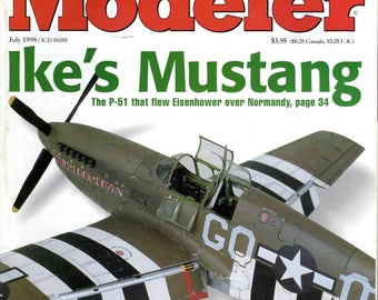 FineScale Modeler Magazine July 1998 The essential tool for model