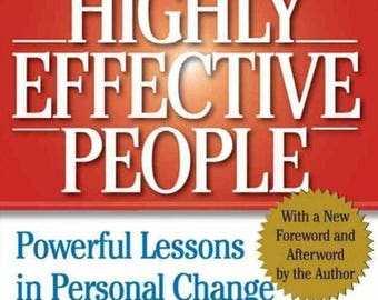 The 7 Habits of Highly Effective People - eBook, ePUB, Mobi, PDF (Fast instant delivery)