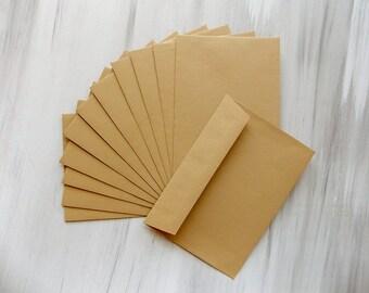Envelopes Wedding Envelopes Craft Envelopes Wedding Save the Date Envelopes Rustic Wedding Envelopes Mini Envelopes Craft Paper Envelopes