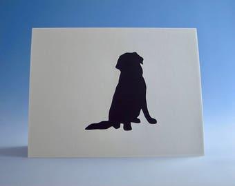 Lab-Labrador Card, Lab-Labrador Greeting Card, Dog Owner Card, Lab-Labrador Birthday Card, Lab-Labrador