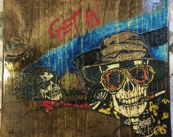 Fear and Loathing in Las Vegas Carving