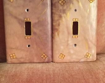 Artisan Series - Art Plate Gold Shadow