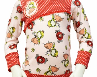 Girls long sleeve shirt, Princess, 92/98