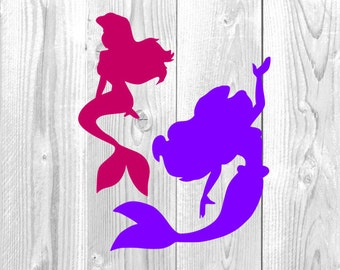 Mermaid Collection Design, Ariel, The Little Mermaid, Disneyland, Disneyworld,  Disney Vacation, SVG, DXF, Png, Jpg, Eps, Cricut Design