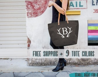 Personalized Tote, Large Monogrammed Purse, Burlap Initial Tote Bag, Burlap Bags, Burlap Tote Bag, Handbags, Weekender Bag Monogram Tote Bag