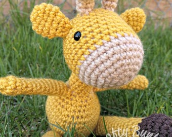 Mini Giraffe Crochet doll stuffed animal