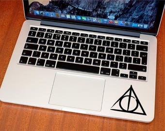 Deathly Hallows Sticker - Deathly Hallows Decal - Harry Potter - MacBook Decals - Bumper Decal