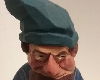 Hand Carved Pirate Figurine (Hanah)