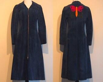 Vintage 1969 Suede Coat
