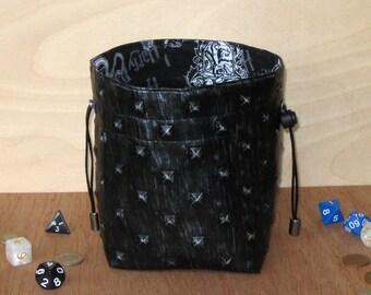 Steampunk dice bag | Etsy