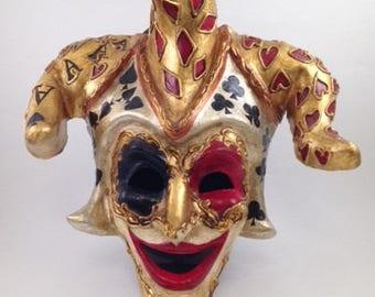 Venetian Jester Mask – Joker's Wild
