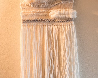 Creamy light Weave Wall Hanging
