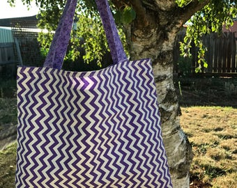Tote Bag with Zip- (SPECIAL)
