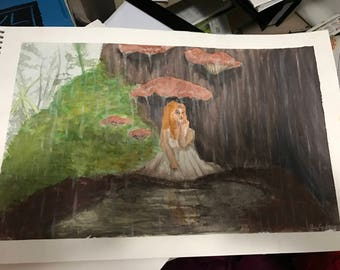 Fairy Rain painting original