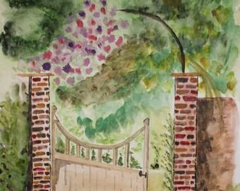Gateway Watercolor Piece