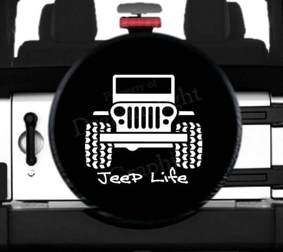 jeep life spare tire cover. Black Bedroom Furniture Sets. Home Design Ideas