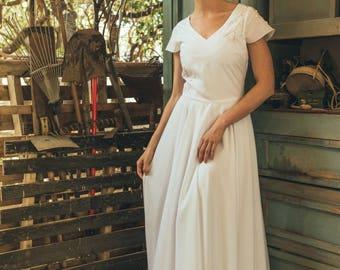 Boho wedding dress, Dress for wedding, Bridal dress, Pagan wedding dress, Affordable wedding dress, Rustic wedding dress, Tulipa blossom
