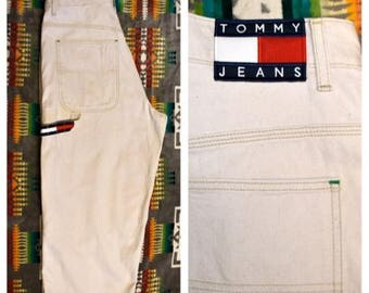Vintage Tommy Hilfiger 90s nineties style long shorts