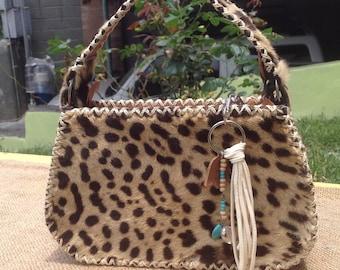 Leather bag, Leather jaguar Bag, jaguar purse, exotic purse, exotic gift, handmade jaguar bag by Jefthe D'lima
