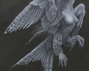 Harpy Woman Print