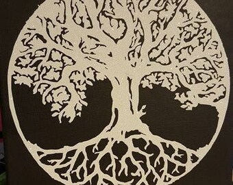 Tree of Life art canvas