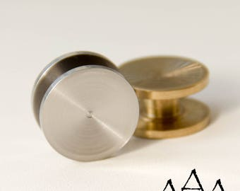 Fidget Spinner Caps Bearing Caps 22mm 7/8\' Stainless Steel Brass Aluminum  Bronze Metal Titanium Bearing Covers EDC Hand Spinner Metal toy