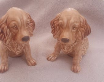 Lovely pair of  Sylvac spaniels