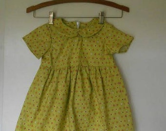 Short Sleeve, Girls, Modest, Toddler Size 18 Month Dress