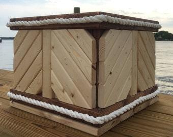Nautical Style Planter Box