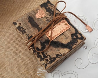 Wedding vow book. Gift for the Bride and Groom.