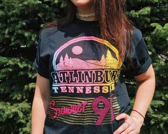 Gatlinburg SUMMER of '91 T-Shirt // Large