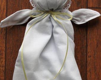 Soft Doll Toy - Handkerchief Doll - Civil War Doll - Plantation Doll - Pew Doll - Quiet Time Toy