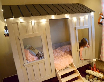 Kid's Cabin Bed