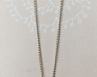 Multi-Metal Pearl Necklace