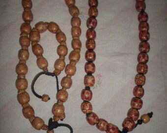 2 African neck bracelets/1 hand bracelet