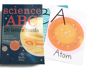 Nerdy Baby ABC flash cards
