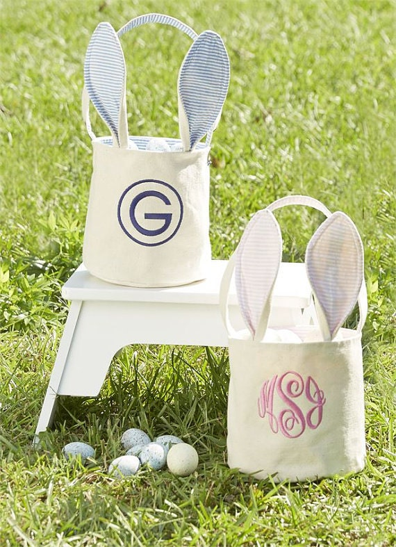 Easter Basket Personalized Easter Basket Monogrammed