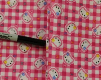 Hello Kitty 100% cotton  fabric
