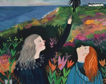 Dunwich and Magpies - Giclee fine art print